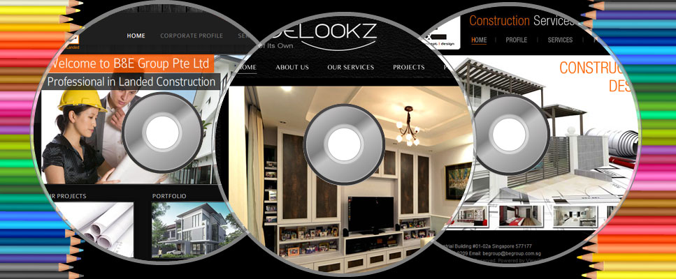 Interior Website Designs